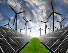 太阳能及风电L域